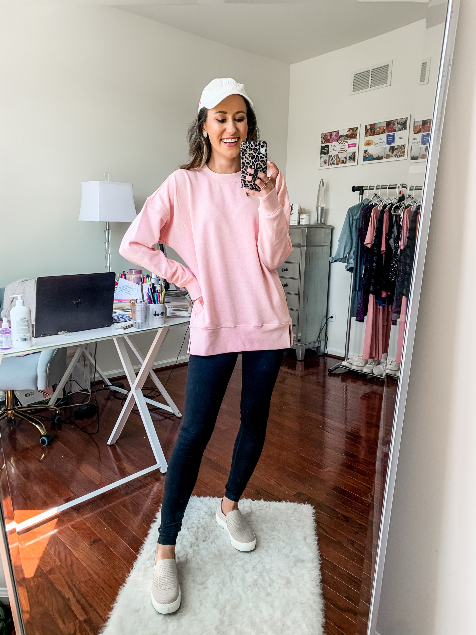 pink zella sweatshirt - NORDSTROM ANNIVERSARY SALE - Try-on Haul with Hits AND MISSES on Coming Up Roses