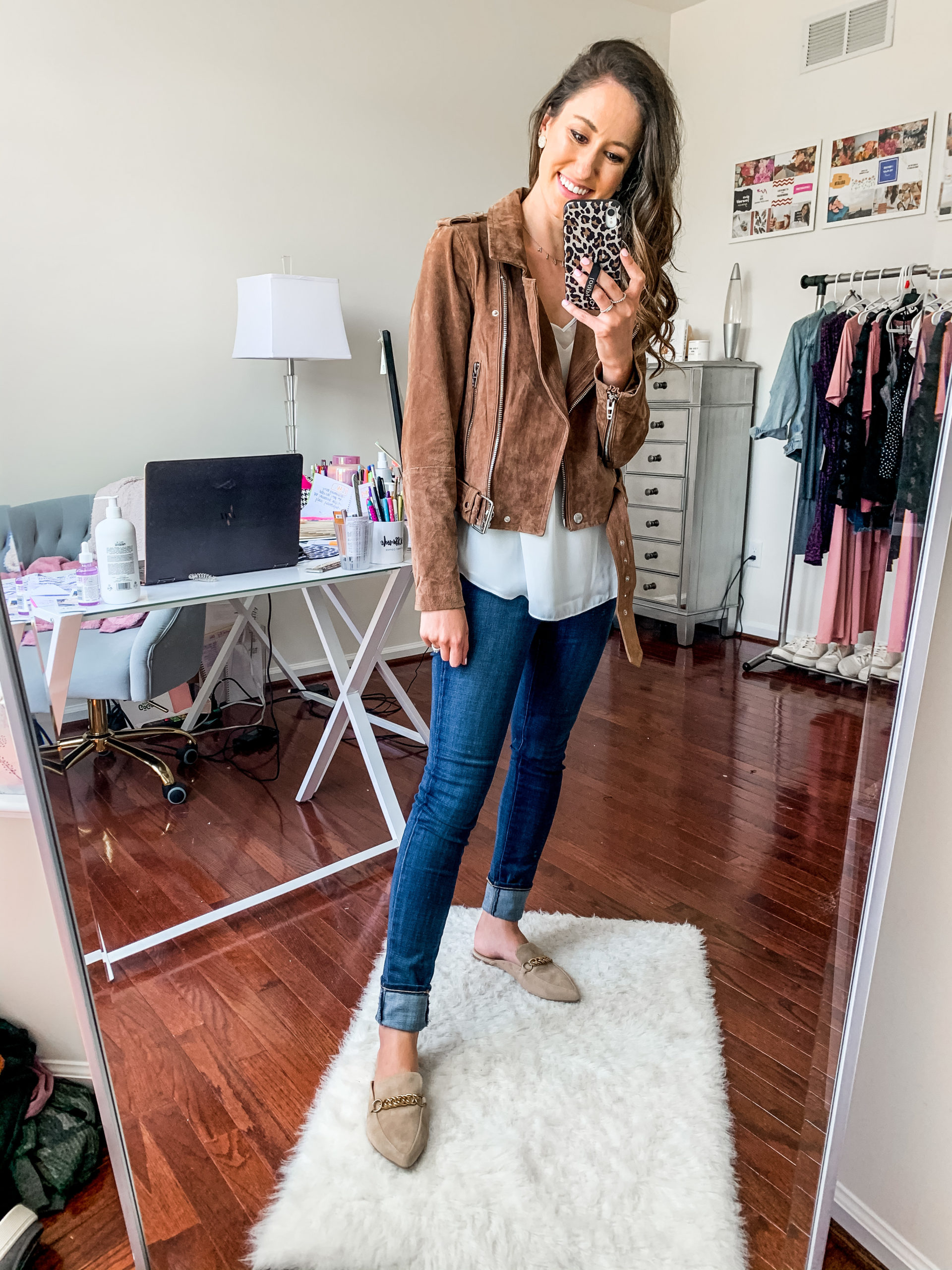 blankNYC suede jacket - NORDSTROM ANNIVERSARY SALE - Try-on Haul with Hits AND MISSES on Coming Up Roses