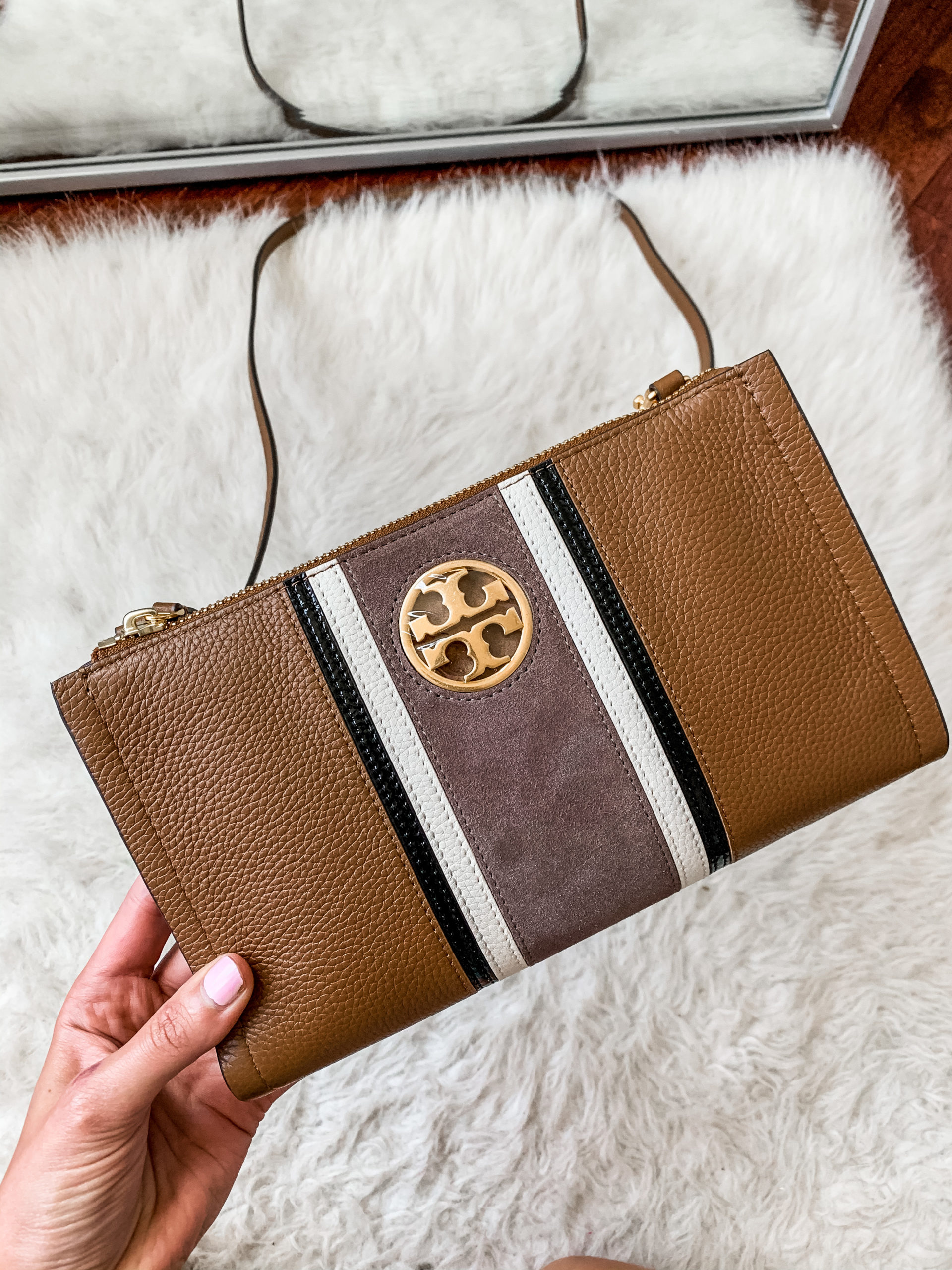 Tory Burch crossbody - NORDSTROM ANNIVERSARY SALE - Try-on Haul with Hits AND MISSES on Coming Up Roses