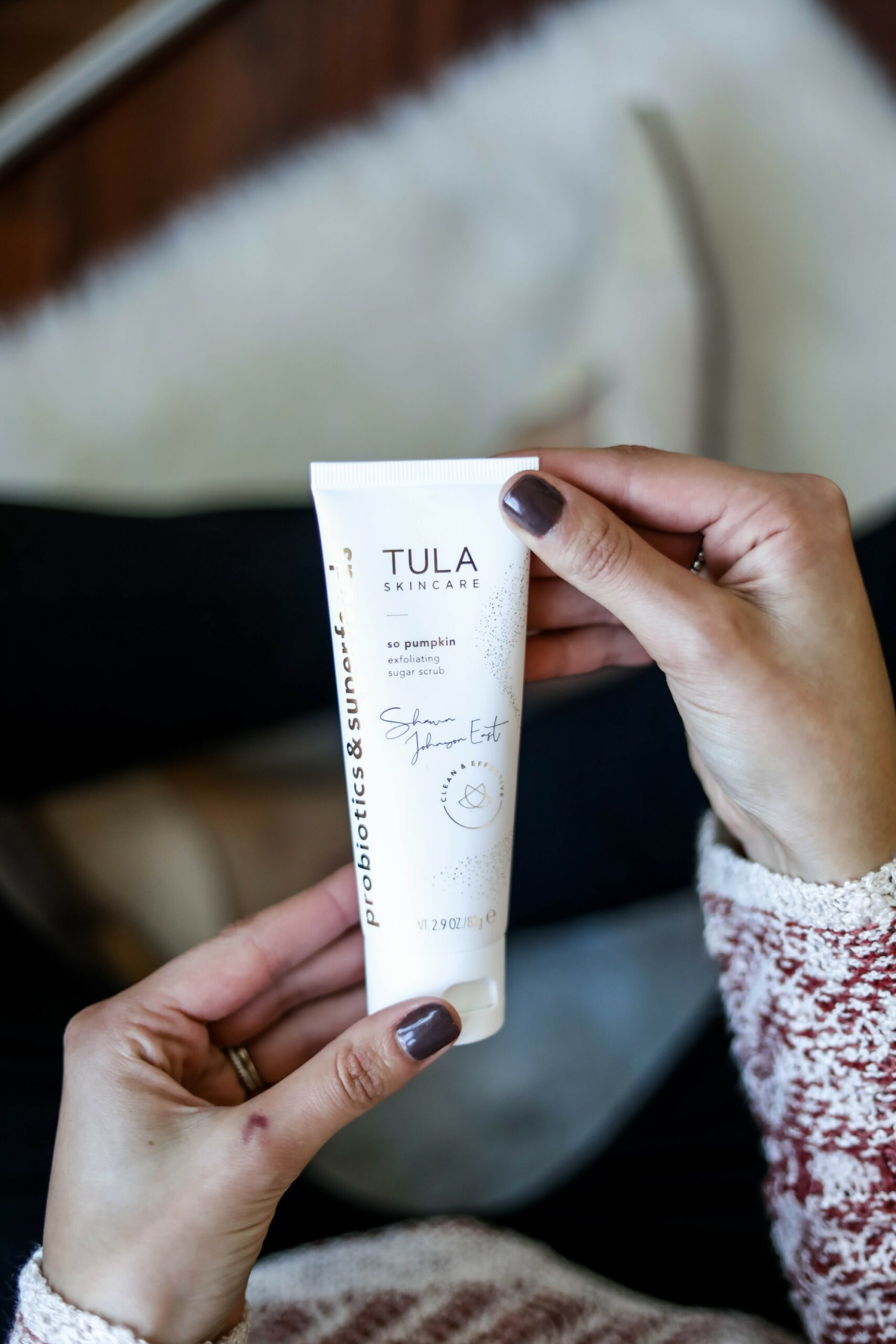 Tula's LIMITED EDITION so polished PUMPKIN exfoliating scrub - Monthly Favorites on Coming Up Roses