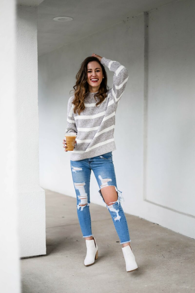 How to Style White Booties TWO Ways