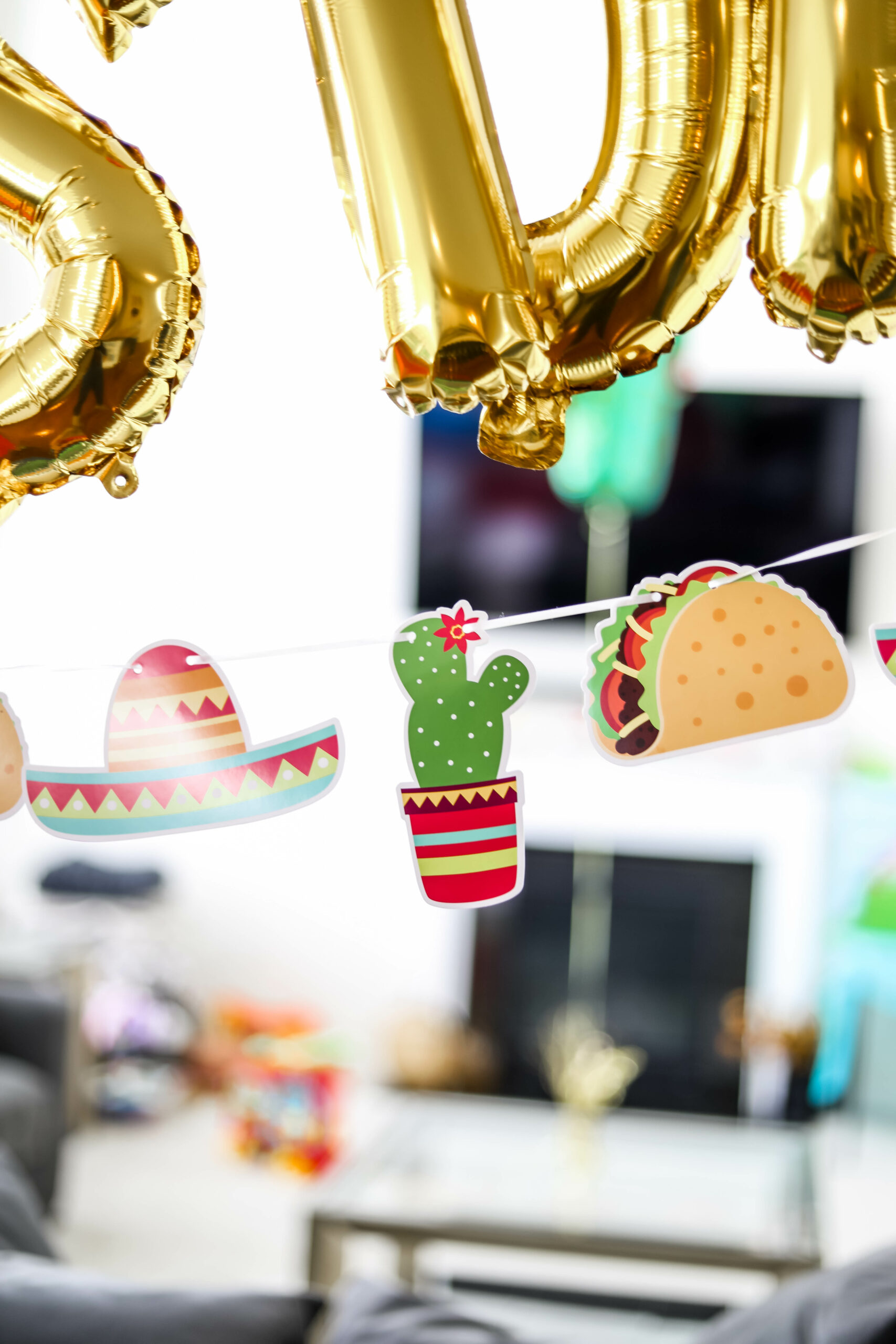 Taco TWOsday Birthday Party Decorations & Inspiration - on Coming Up Roses