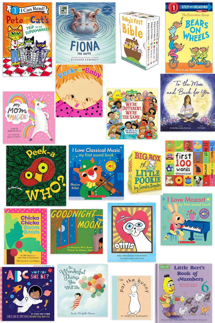 OLIVIA'S FAVORITE BOOKS (12-24 months) - on Coming Up Roses