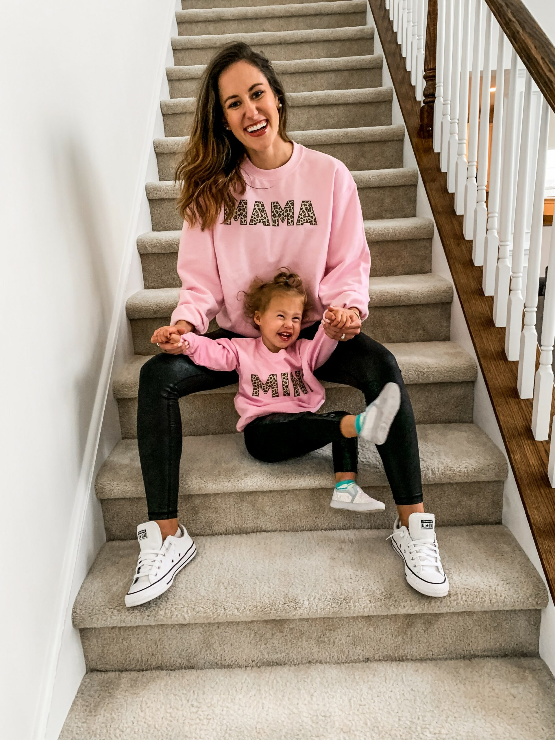 MAMA + MINI SWEATSHIRTS from Pink Lily Boutique (discount code ERICA15)