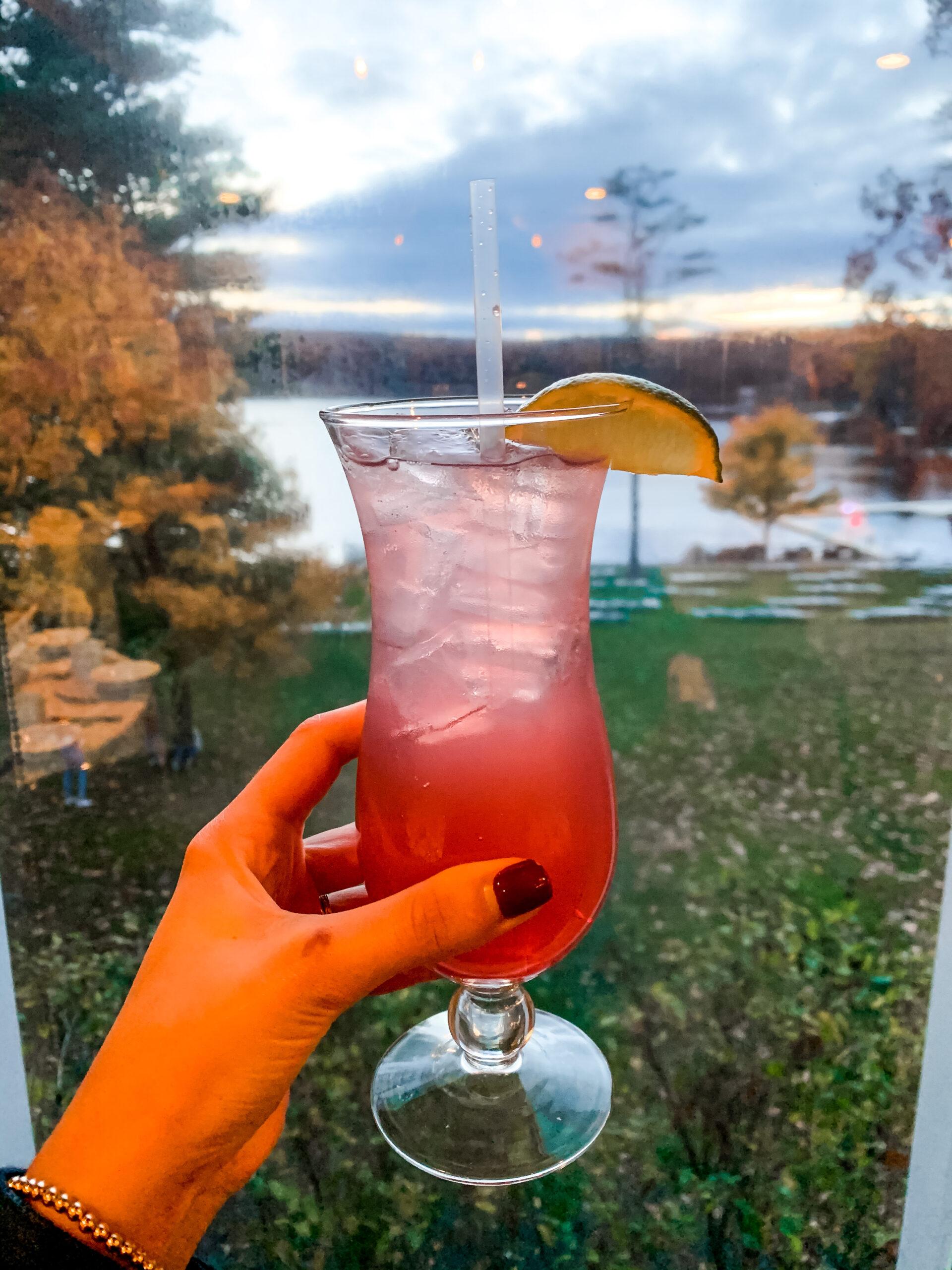 Mixed Drink at the Woodloch Resort