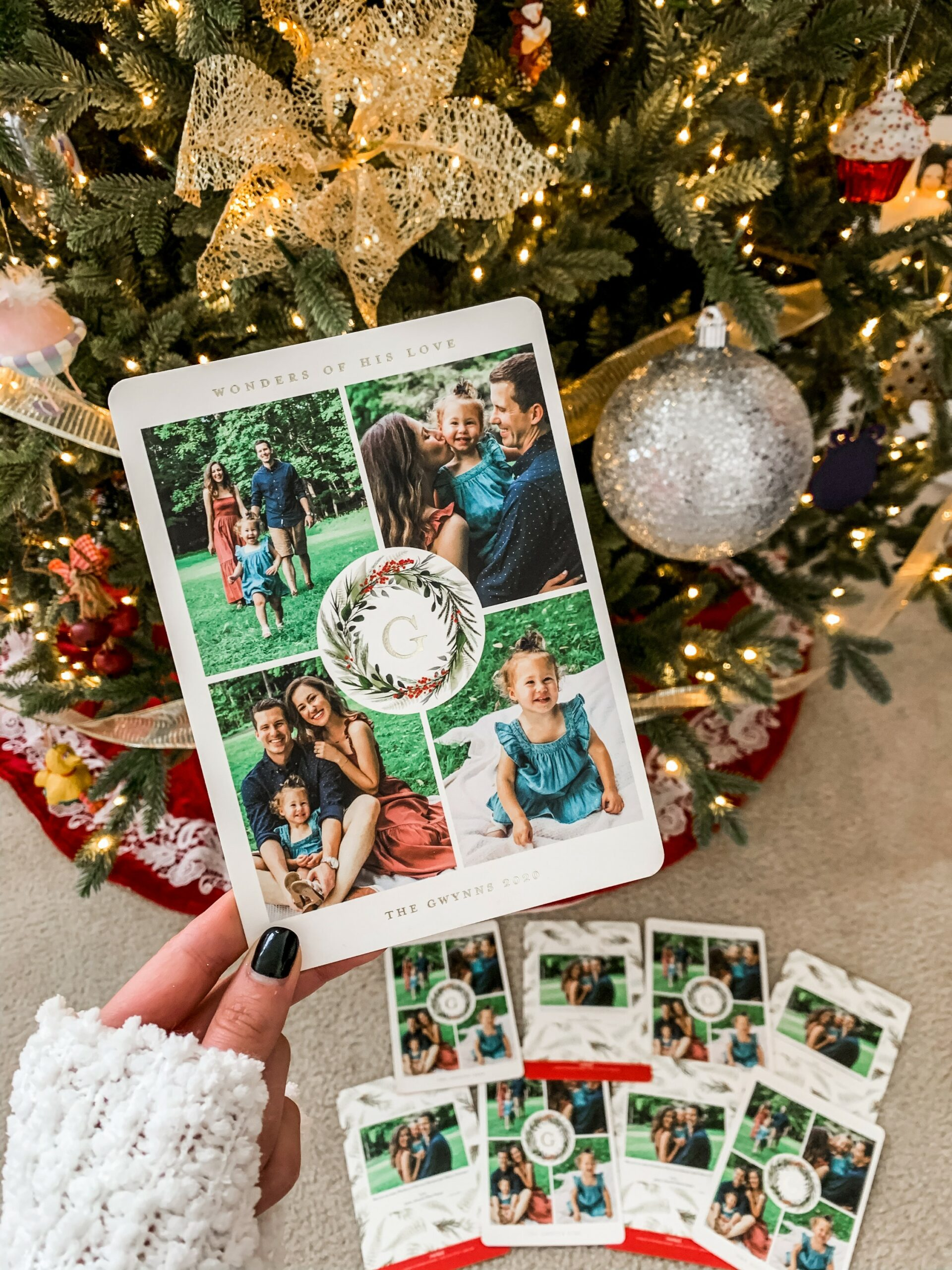 Our 2020 Minted Christmas Cards - on Coming Up Roses