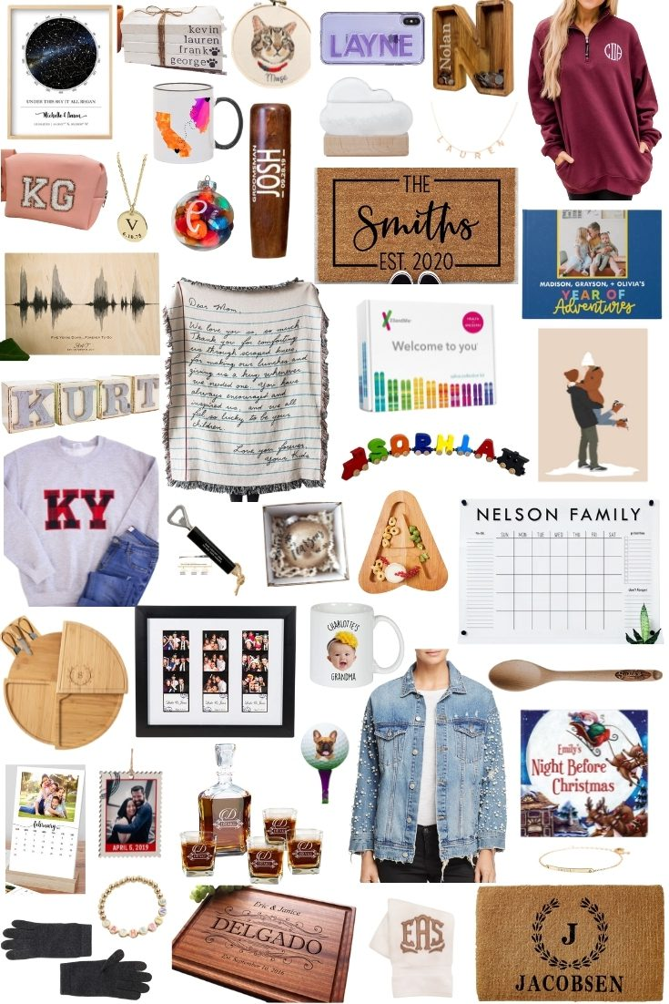 GIFT GUIDE: My Favorite Unique + Personalized Gift Ideas