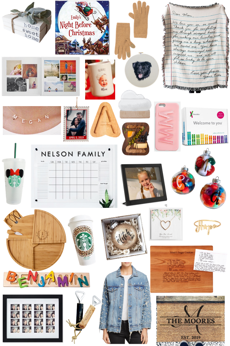 The Best UNIQUE GIFT IDEAS + PERSONALIZED gift ideas in this Gift Guide on Coming Up Roses!