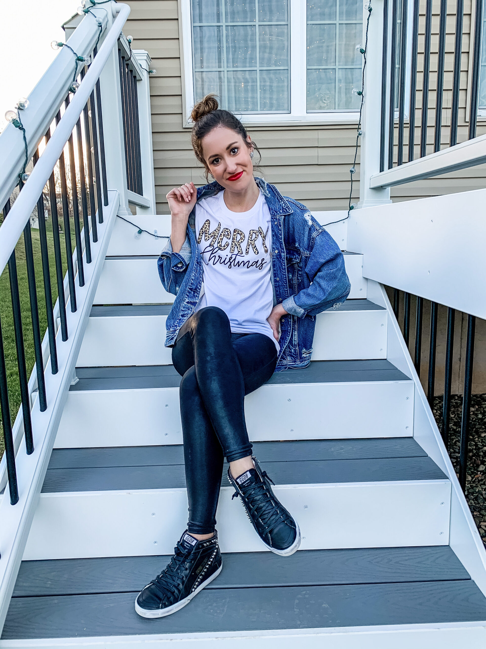 The Best CHRISTMAS GRAPHIC TEES + Sweatshirts for Women - on Coming Up Roses