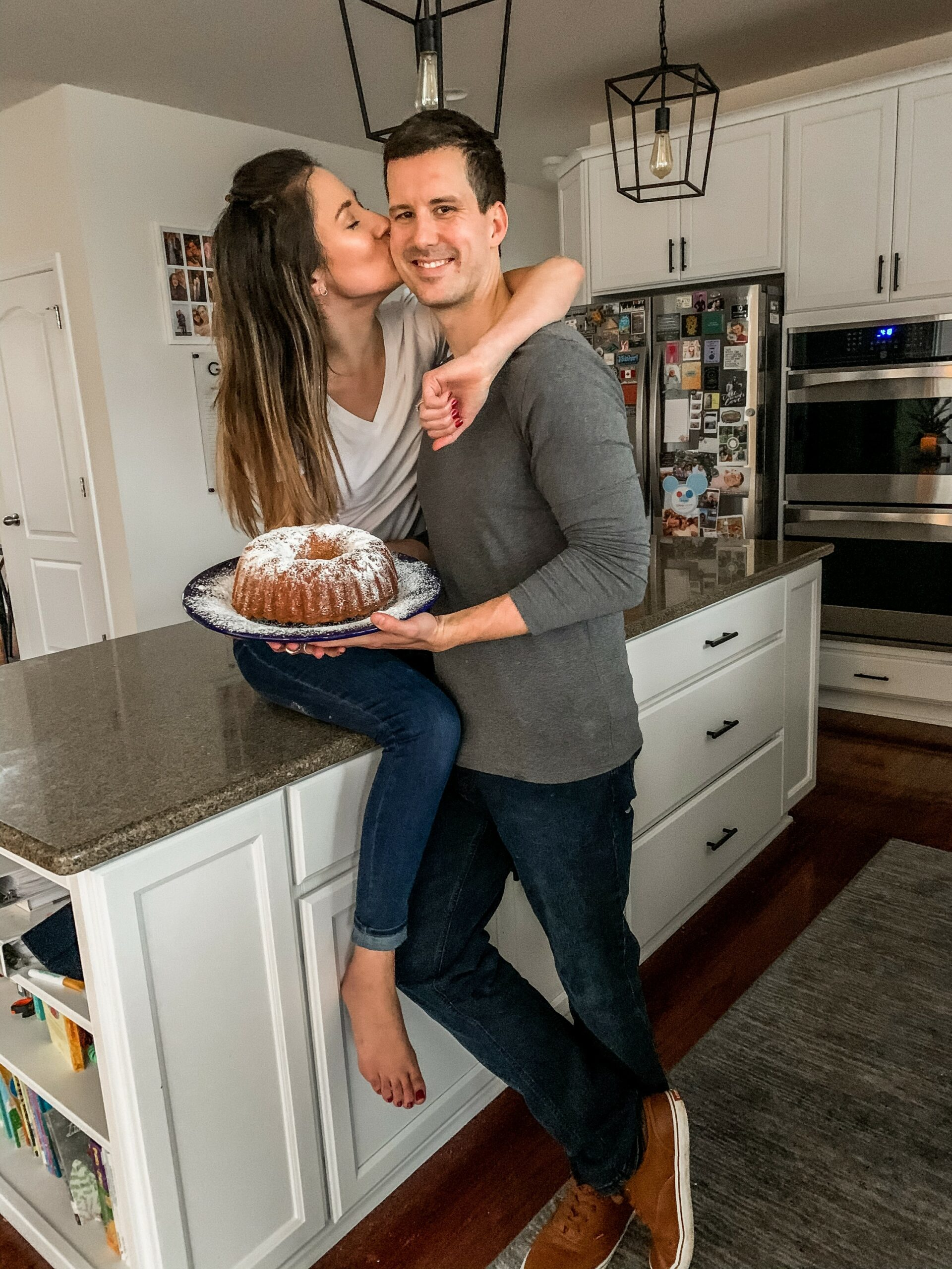 The BEST POUND CAKE RECIPE of all time - seriously! (On Coming Up Roses)