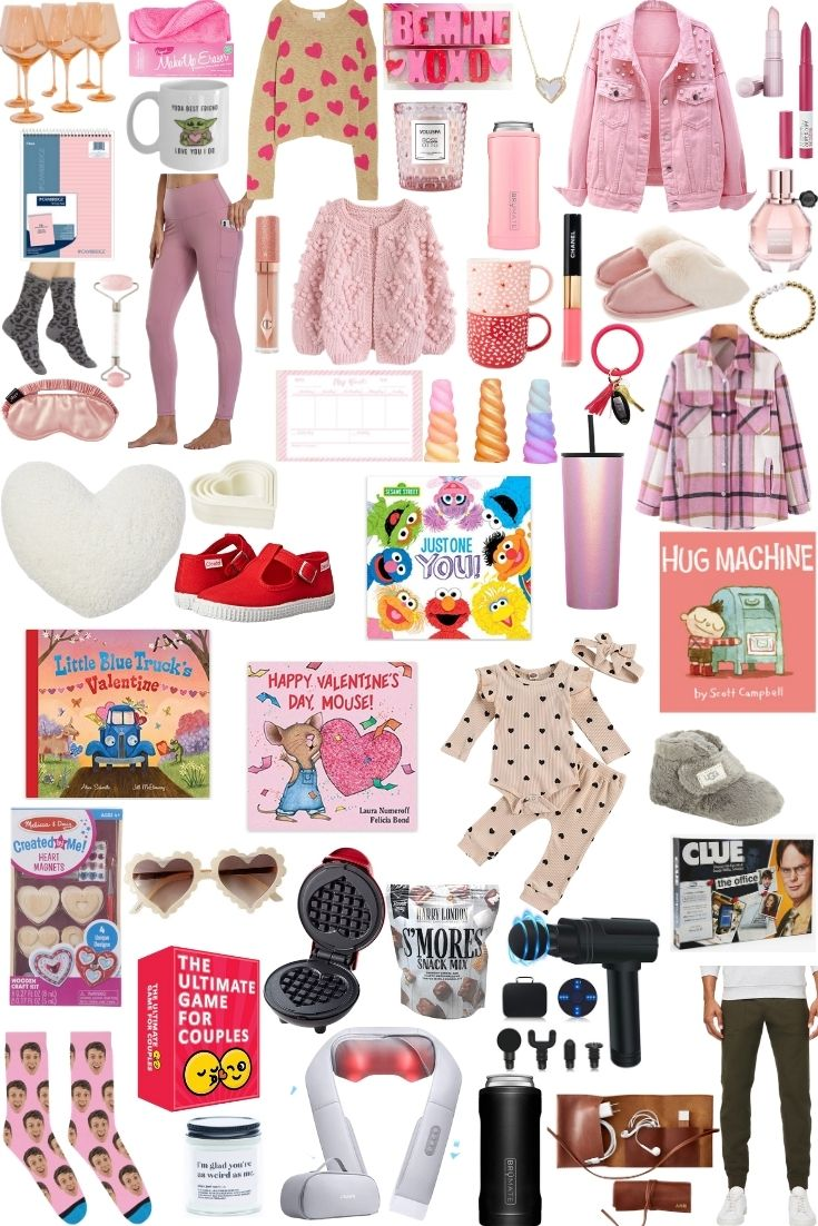 Valentine's Day Gifts for Her, for Him, and for Kids - on Coming Up Roses