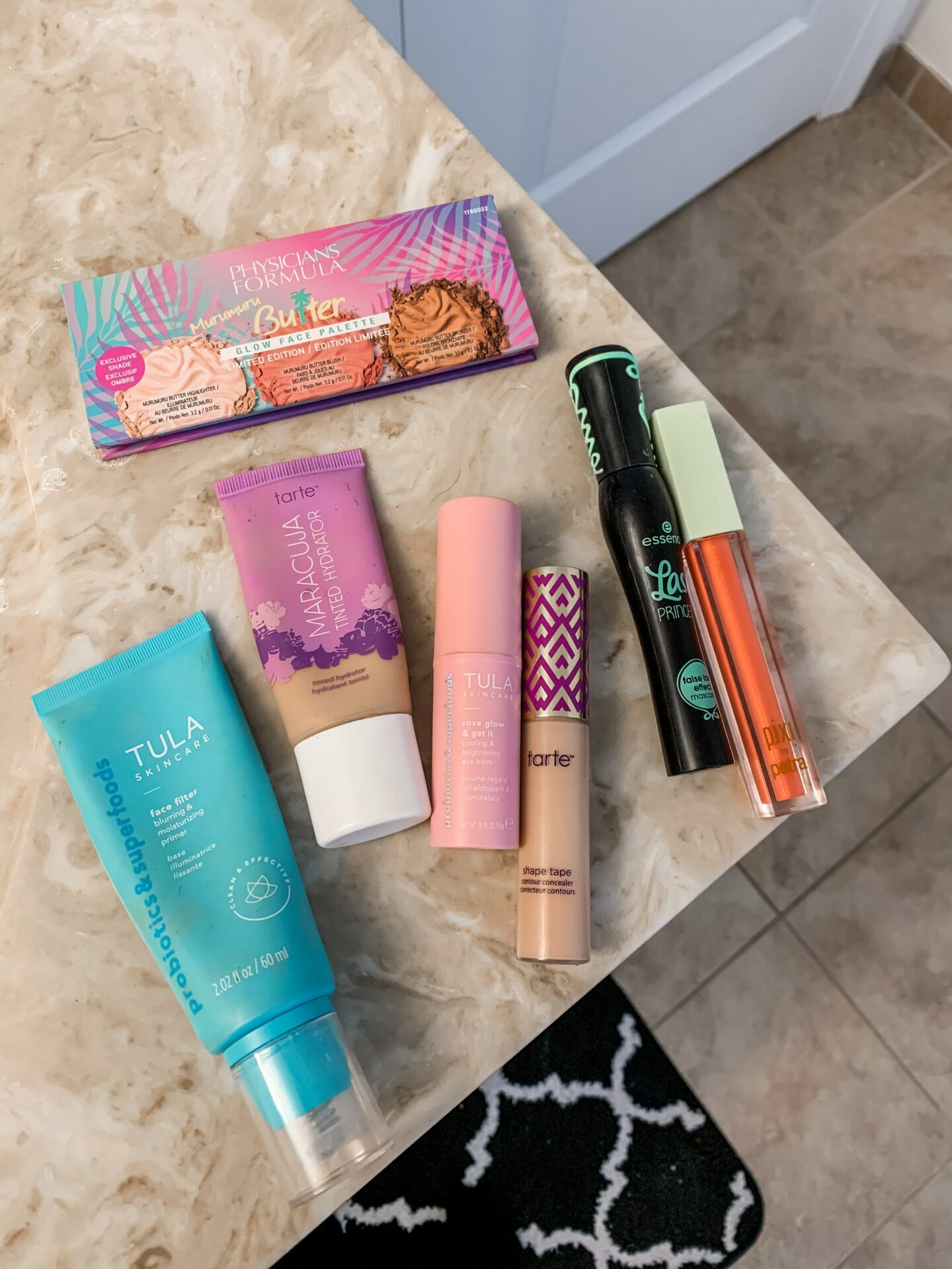 Everyday makeup - tarte shape tape, tula face filter