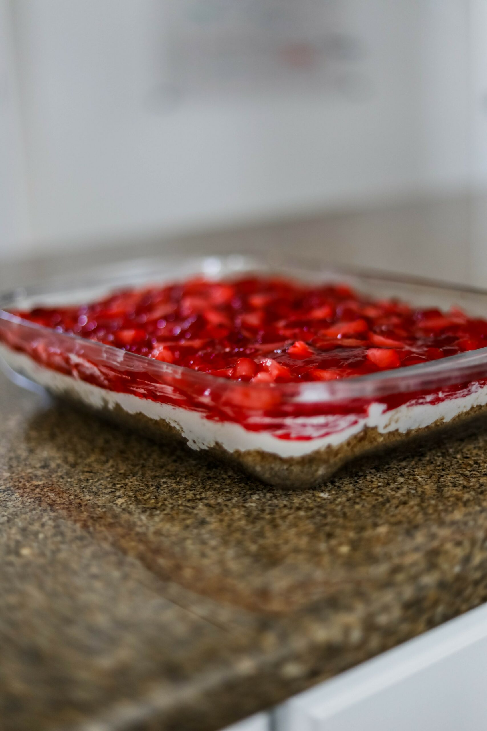 The Best STRAWBERRY PRETZEL SALAD RECIPE - on Coming Up Roses