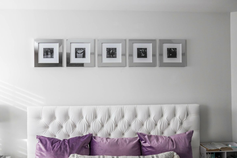 FRAMEBRIDGE COLLAGE FRAMES - master bedroom decor on coming up roses