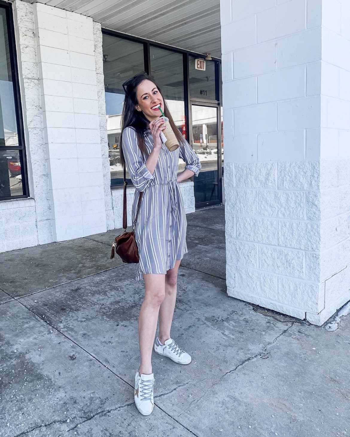 WALMART FASHION HAUL FOR SPRING - Time and Tru Dress on Coming Up Roses
