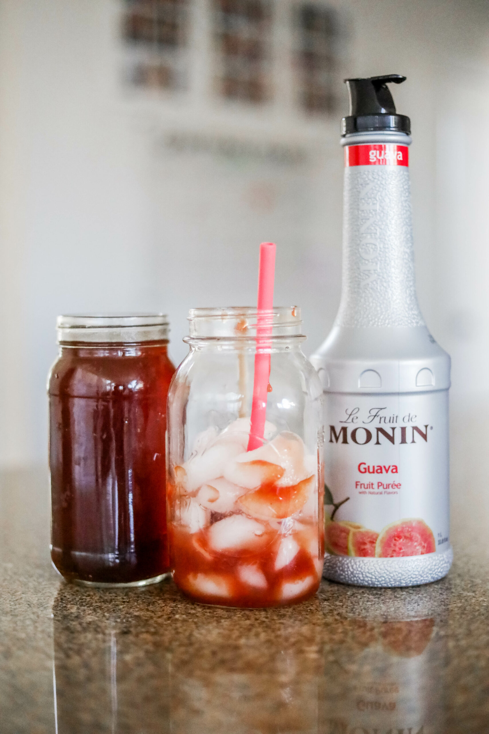 HOMEMADE, HEALTHIER STARBUCKS GUAVA DRINK - on Coming Up Roses