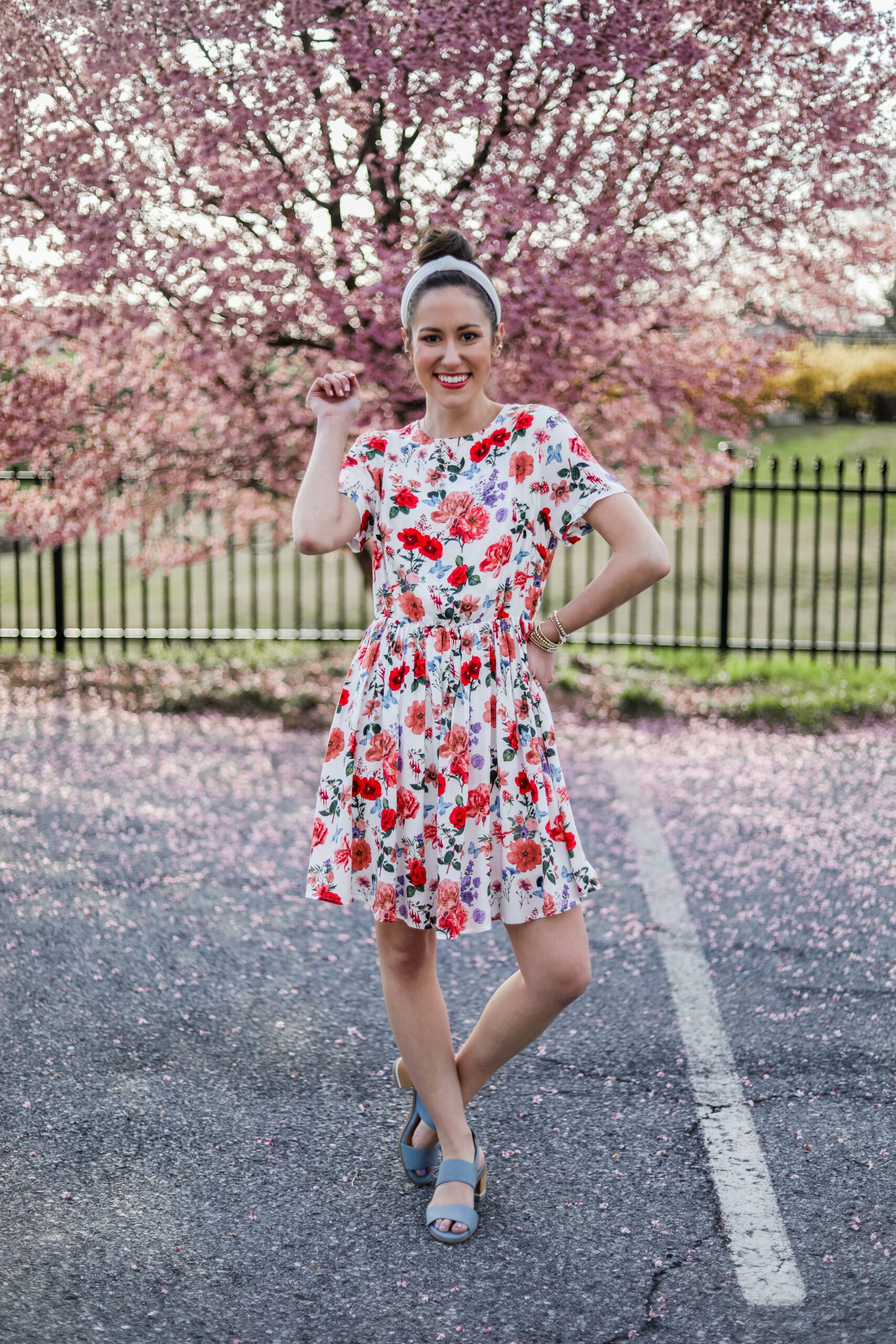AFFORDABLE FLORAL DRESS - Under $30 amazon dress - on Coming Up Roses