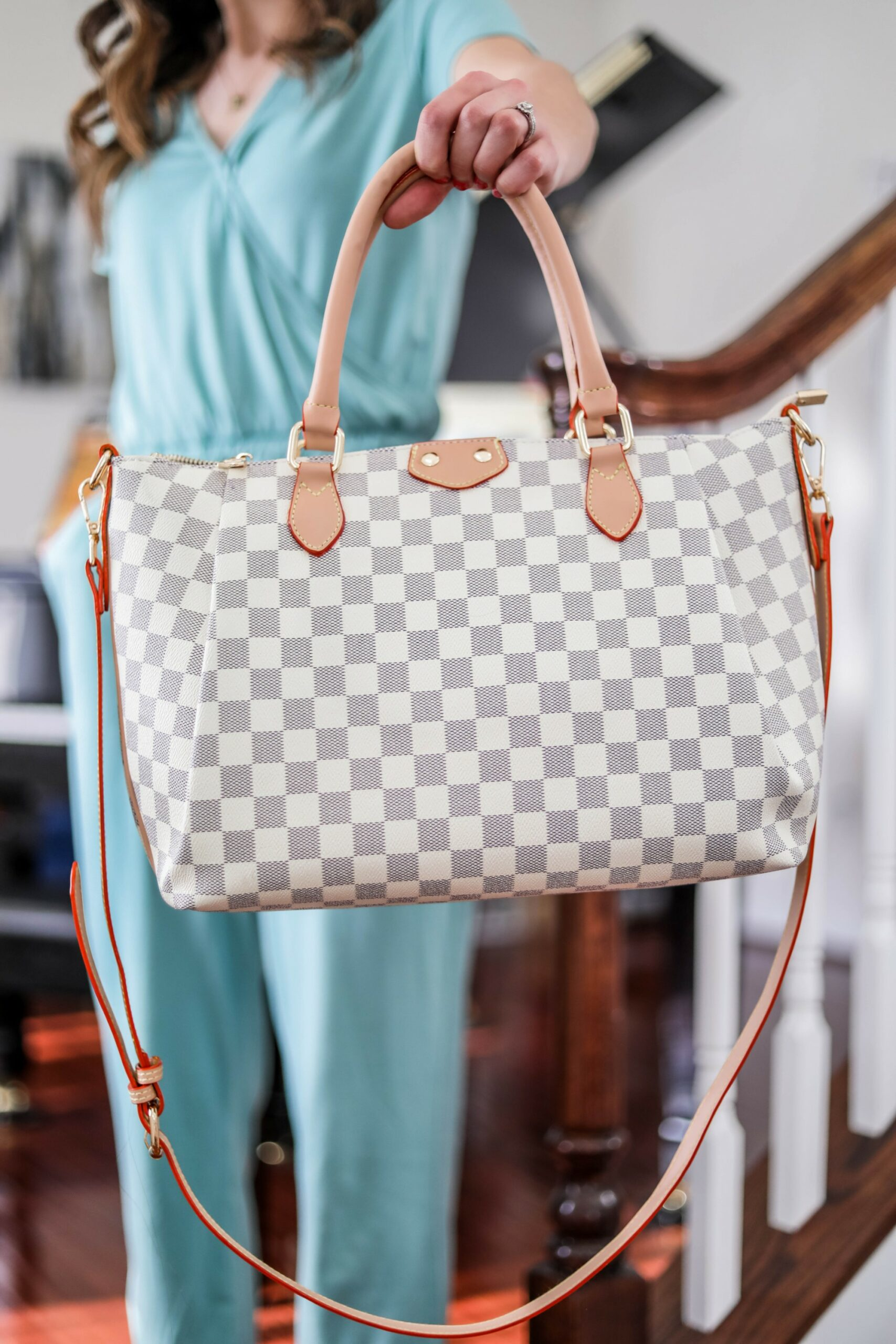 Louis Vuitton Damier look-for-less - UNDER $50 instead of $1500
