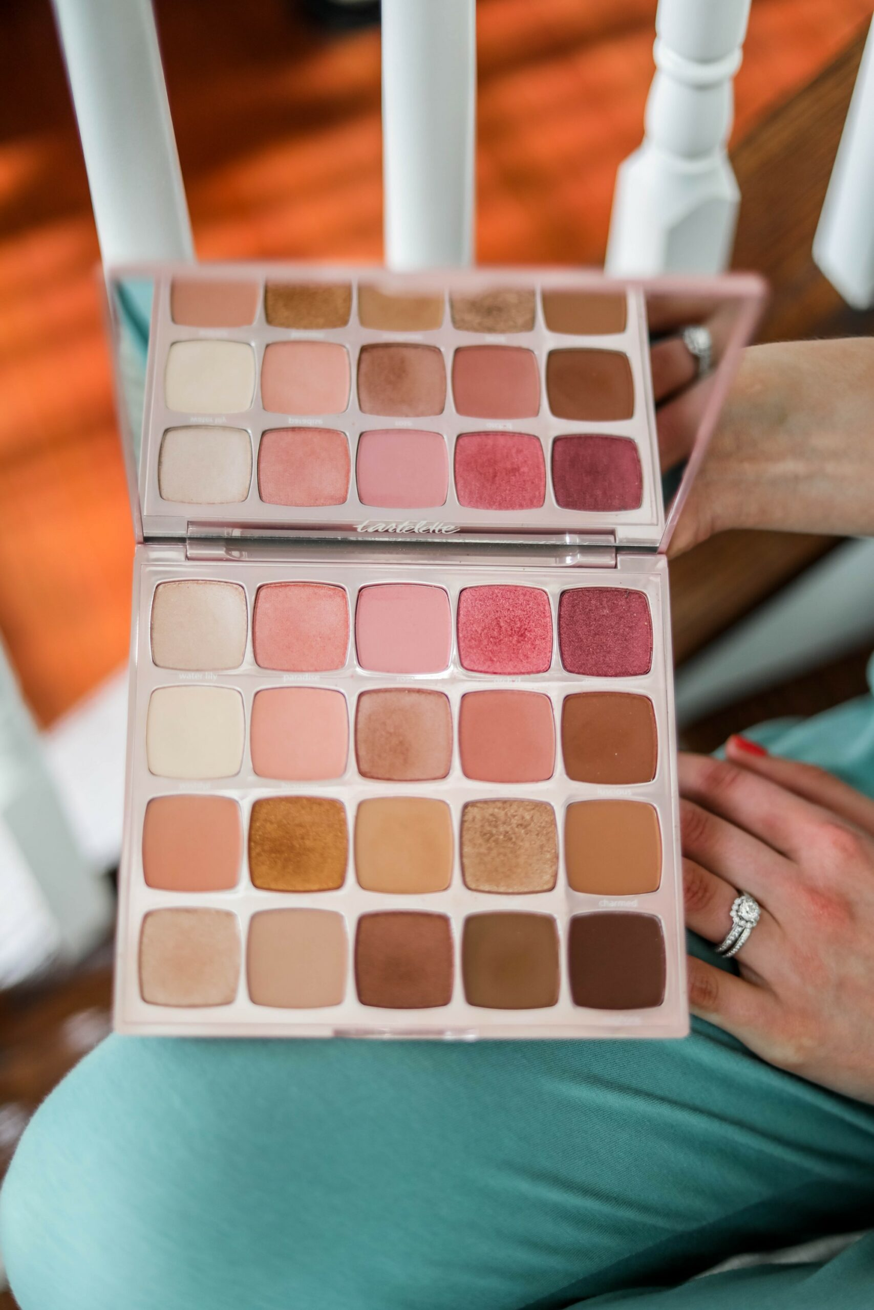 Tarte juicy Amazonian clay eyeshadow palette - on Coming Up Roses