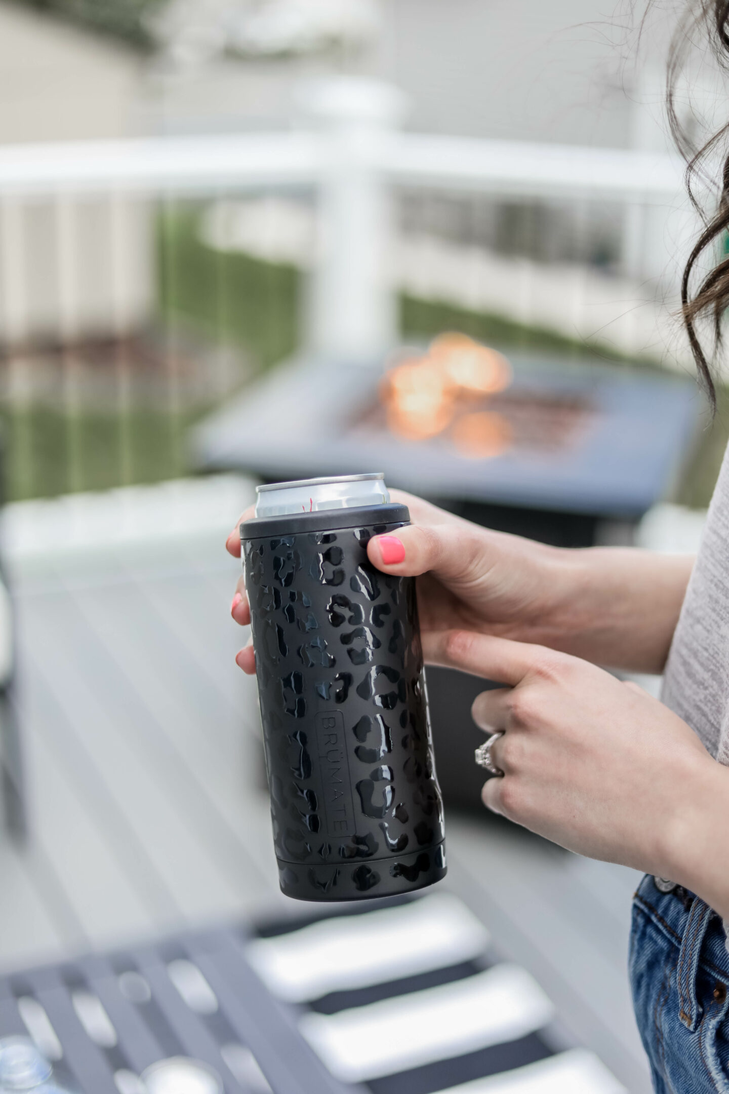 Our New DECK Reveal - with Brumate Slim cans on Coming Up Roses