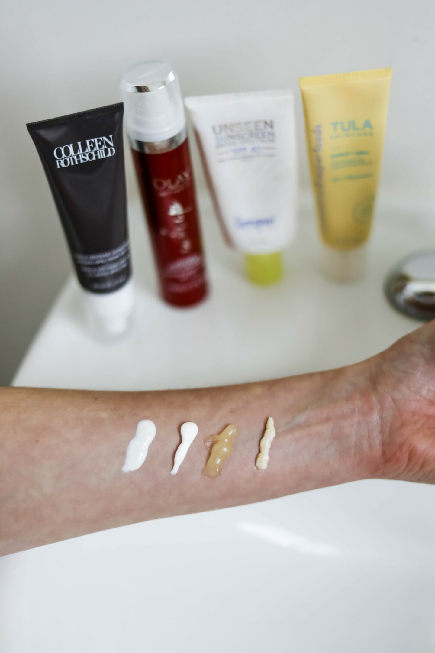 My Four Favorite FACE SUNSCREENS - on Coming Up Roses