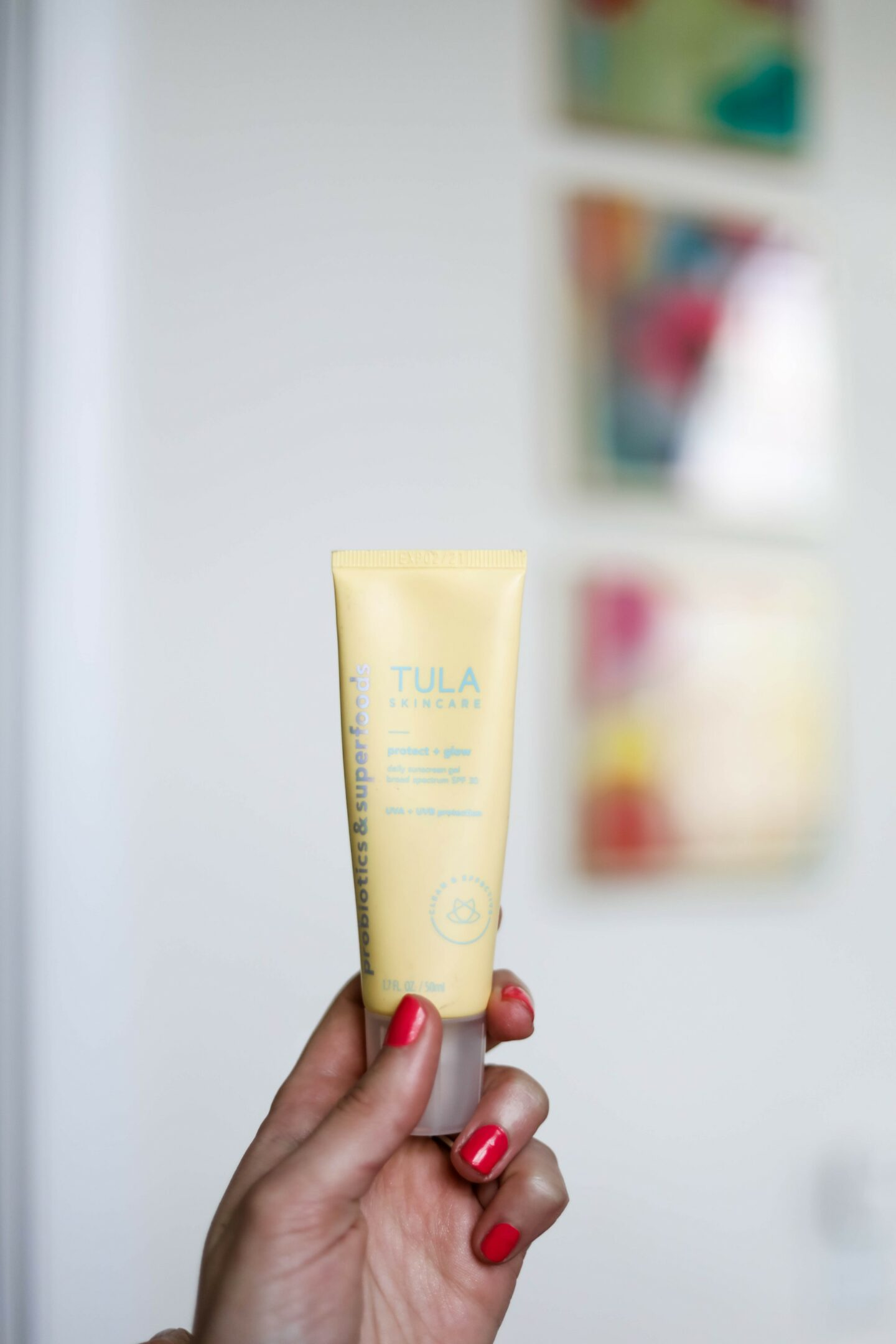 My Four Favorite FACE SUNSCREENS - Tula protect & glow sunscreen (15% off with: COMINGUPROSES)