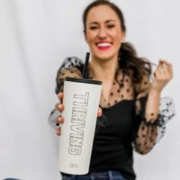 THRIVING Tumbler Cup - the THRIVING Collection on Coming Up Roses