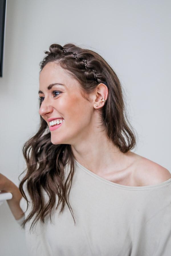 Fake Amazon Braid Headband - Monthly Favorites on Coming Up Roses