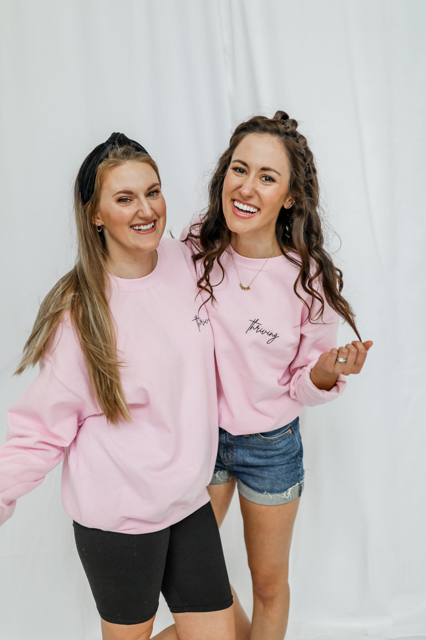 the THRIVING Sweatshirt - the Thriving Collection on Coming Up Roses