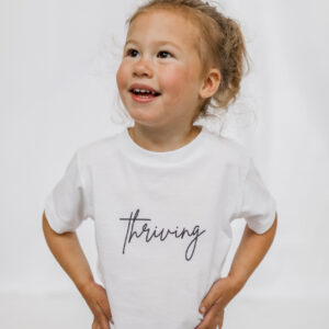 The THRIVING Toddler Tee - on Coming Up Roses