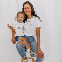 The THRIVING Tee - the THRIVING Collection on Coming Up Roses