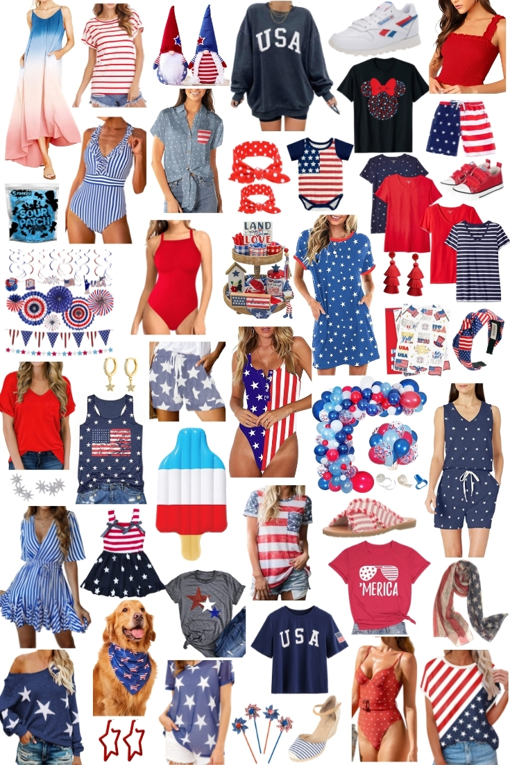 Everything you Need for the 4th of July from Amazon