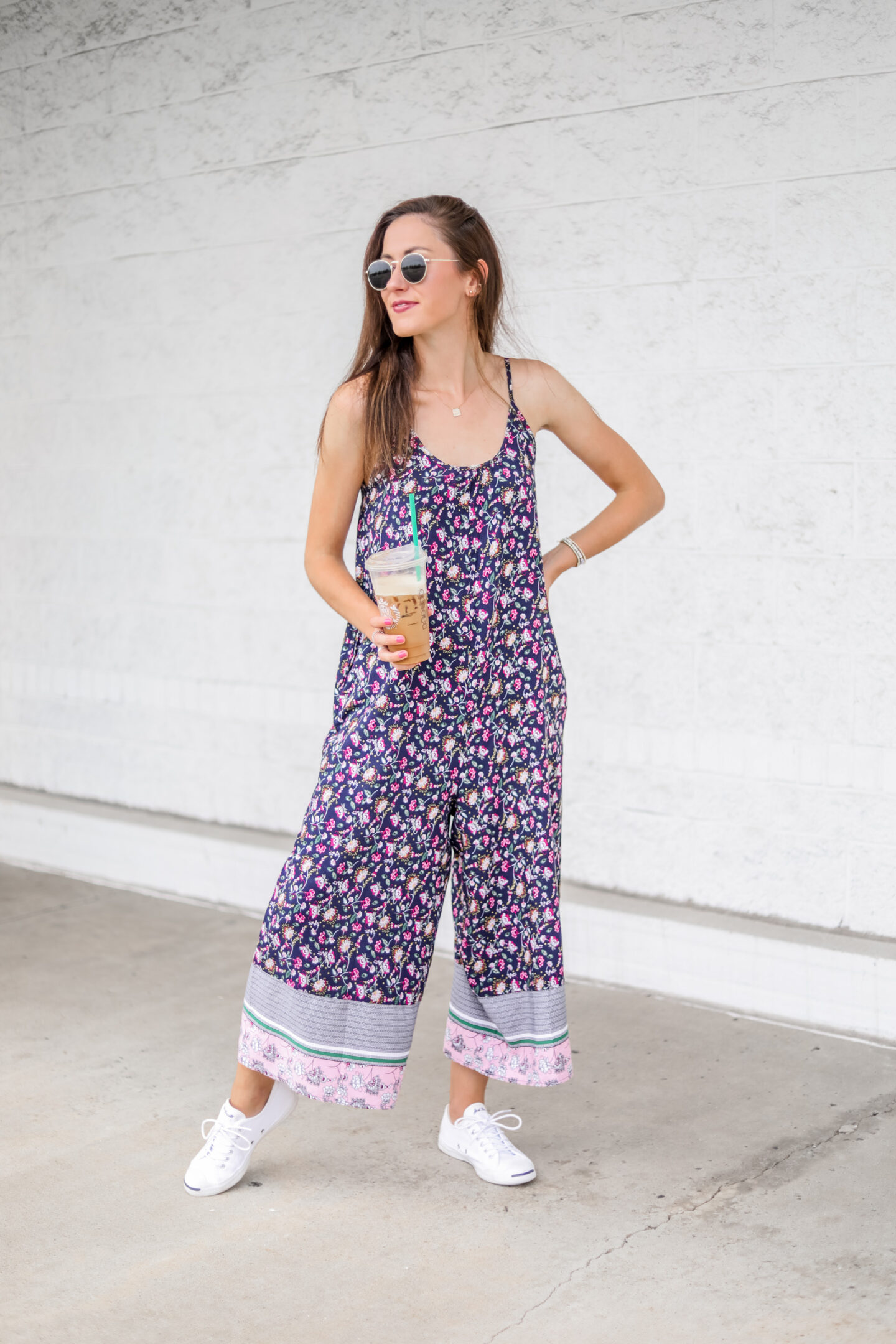 $17 AMAZON JUMPSUIT - Pretty floral prints and easy, breezy fit for everyday wear!
