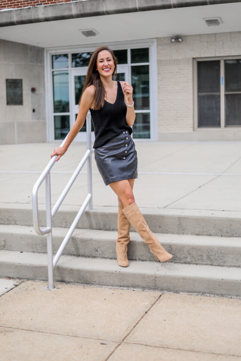Transitional Fall Date Night Outfit