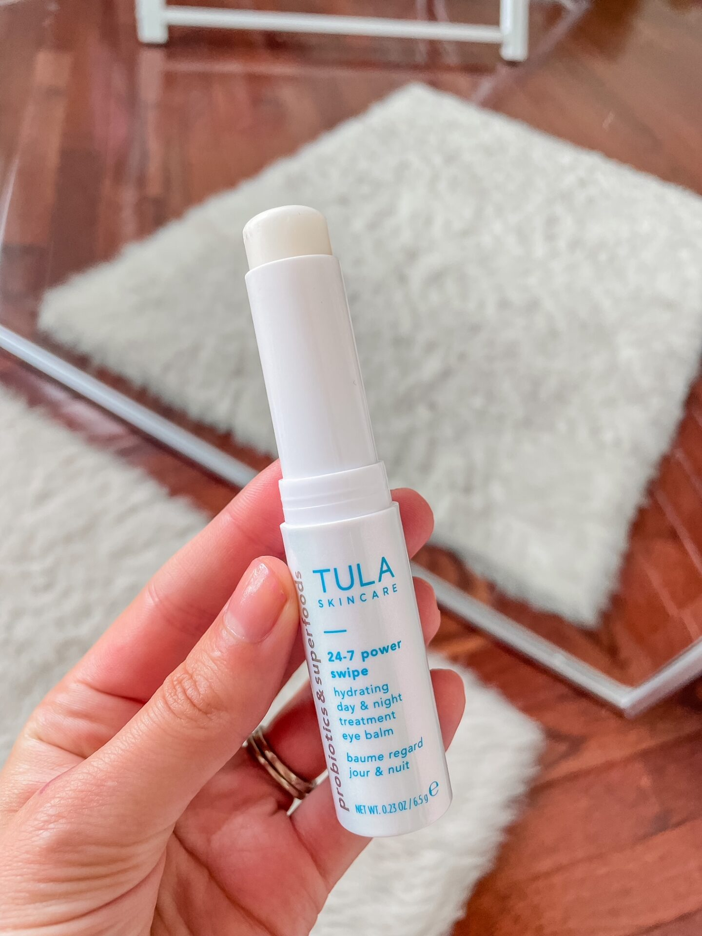 An Honest Review of the new Tula Hydrating Treatment Eye Balm - the 24/7 power Swipe!