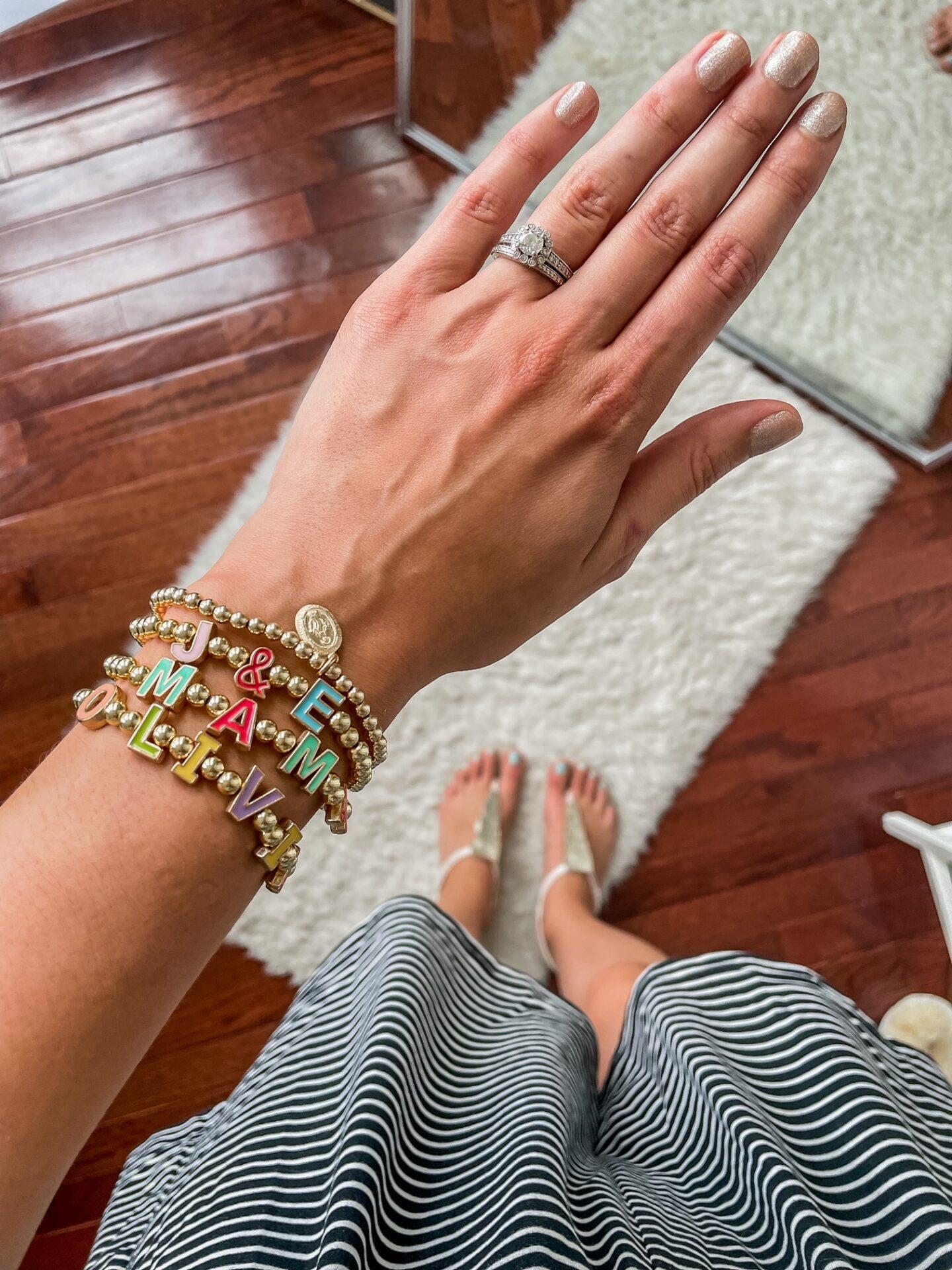 Isabelle Grace beaded bracelets - Baublebar bracelet dupe!