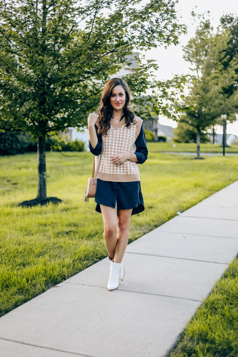 How to Style a Sweater Vest for Fall