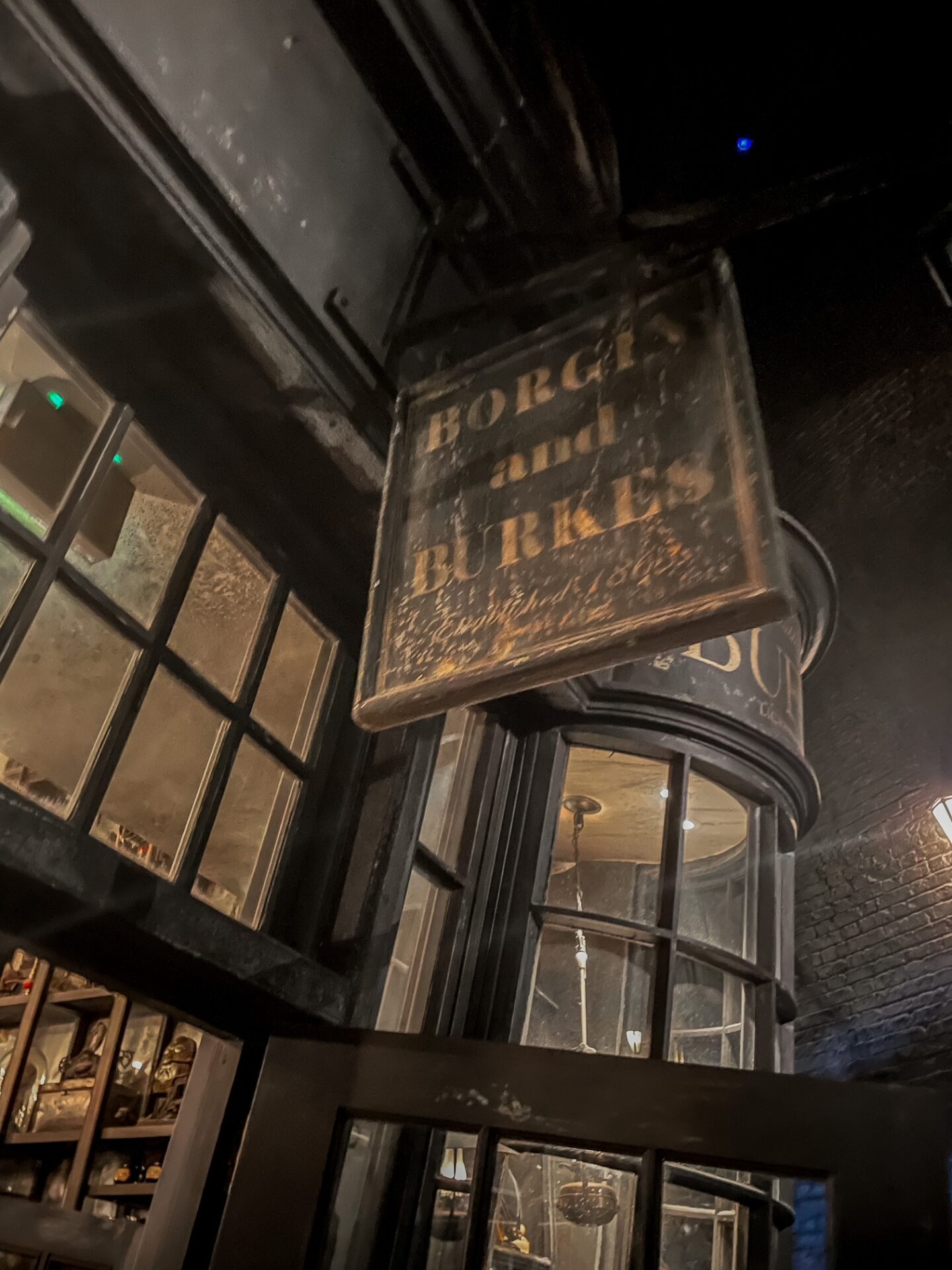 BOURGIN & BURKES in Knockturn Alley - 10 Must-See Spots at Harry Potter World in Universal Orlando!