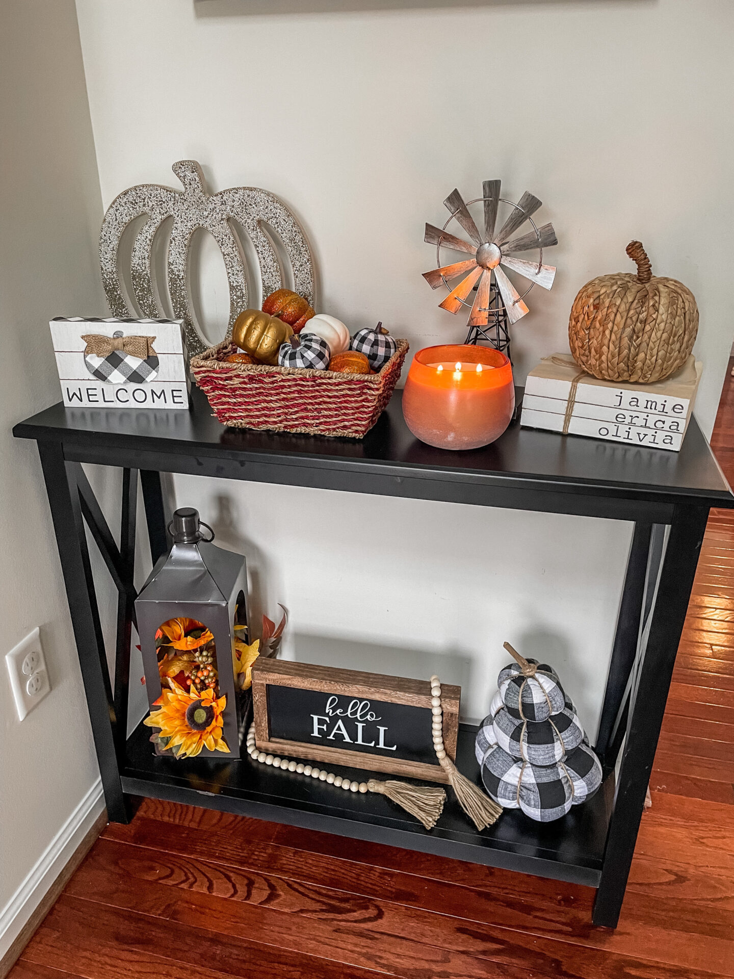 Affordable BUFFALO PLAID DECOR for fall! - on Coming Up Roses